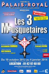 Affiche Mousquetaire Palais Royal