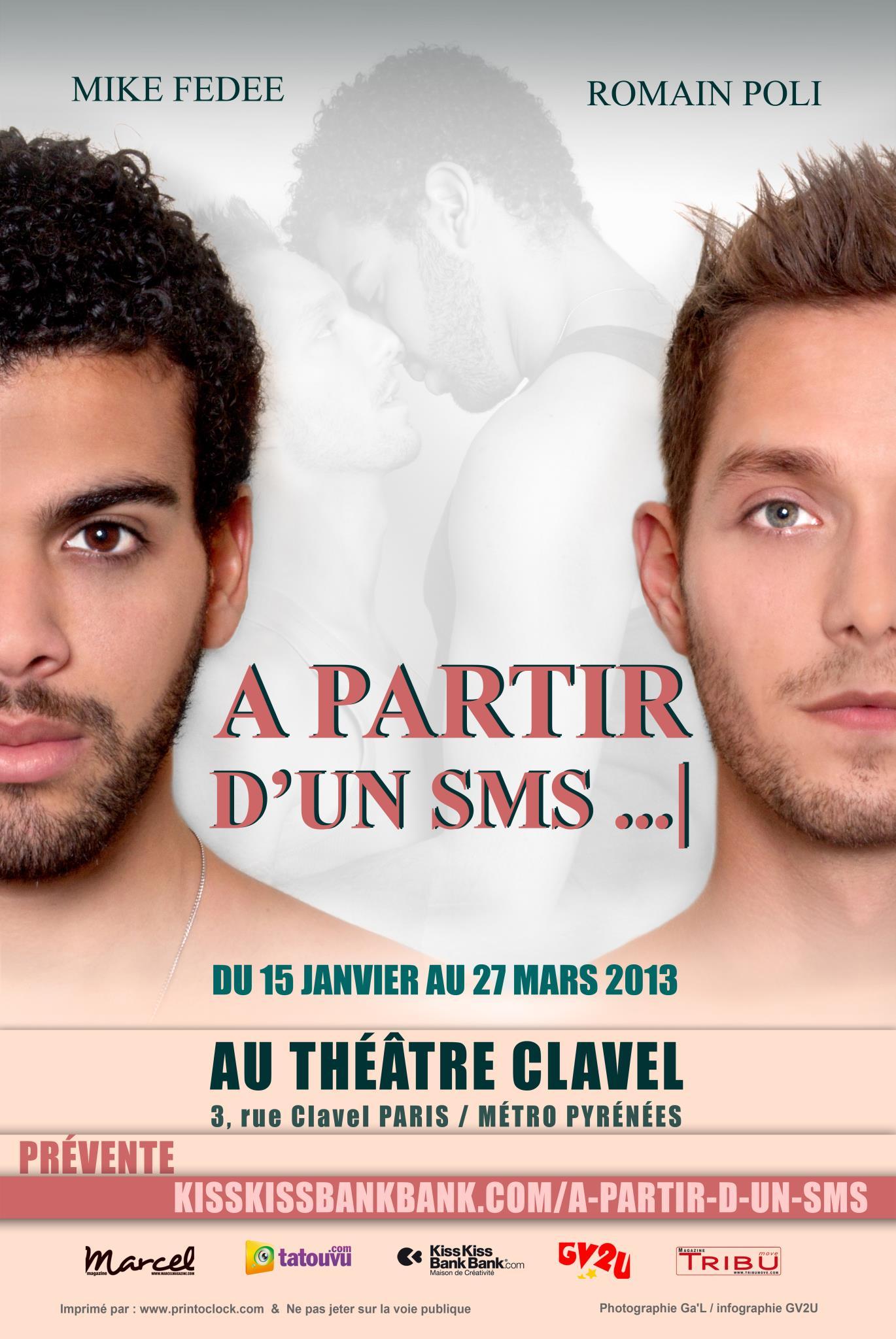 Affiche Théâtre Comédie