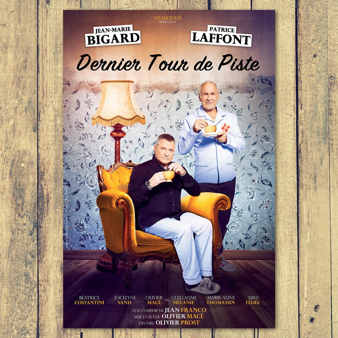 Affiche Théâtre Pièce Tournée