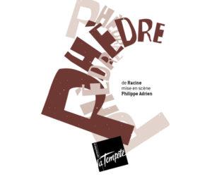 Affiche Phèdre Théâtre Cartoucherie